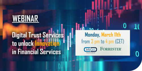 Webinar digital trust in financial services