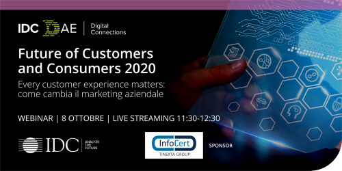 IDC Future of Customer and Consumers